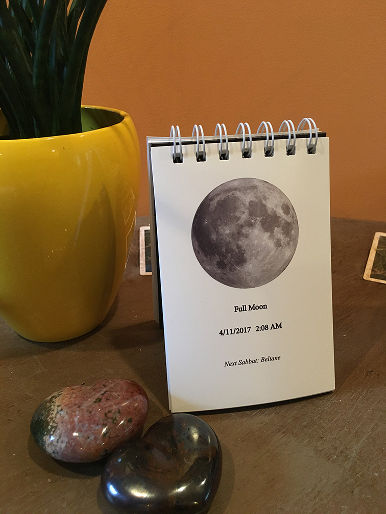 Full Moon Page